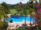 La Cartuja - One of the swimming pools and gardens