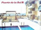 First floor apartment - swimming Pool - Entrance & Sea