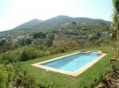 El Corcho in Alhaurin el Grande - Swimming pool with views over the valley