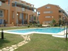 Menorca Apartments - Javea, Costa Blanca - Complex with apartment on left at pool