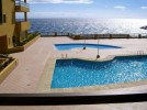 Aguamarina - The stunning view over the pool to the Atlantic
