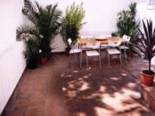 Sitges apartment - Large and sunny private patio