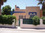 No. 3 Calle Caracas, Calabardina, Aguilas - Front of Villas with off street parking to left and right.