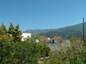 casa merlot - view of mount cabballo and Gr7 route.